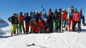 Trainingsweekeinde Hintertux september 2015