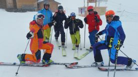 Telemark Clinic leraren Dutchweek Val Thorens april 2017