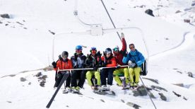 Trainingsreis Val Thorens april 2014